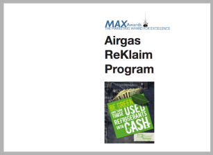 Airgas ReKlaim Program portfolio